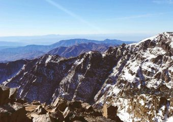Toubkal mountain